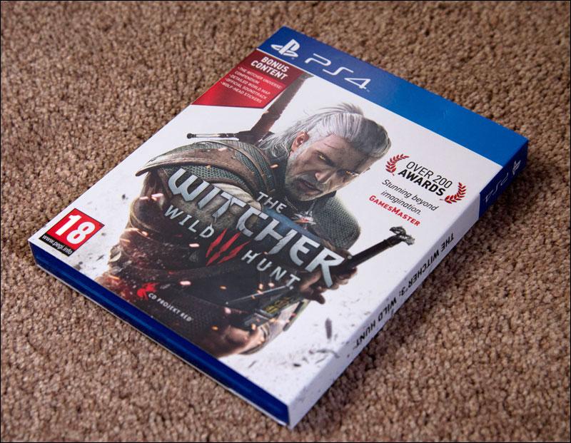 The Witcher 3 Wild Hunt Premium Edition Video Game Shelf