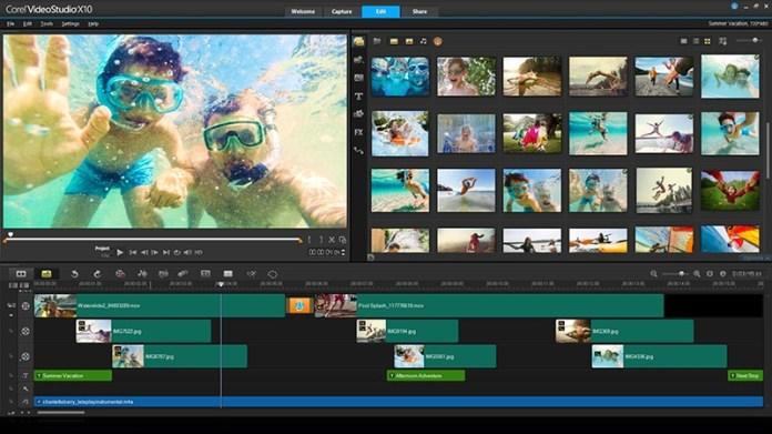 Image result for 3. Corel Video Studio.