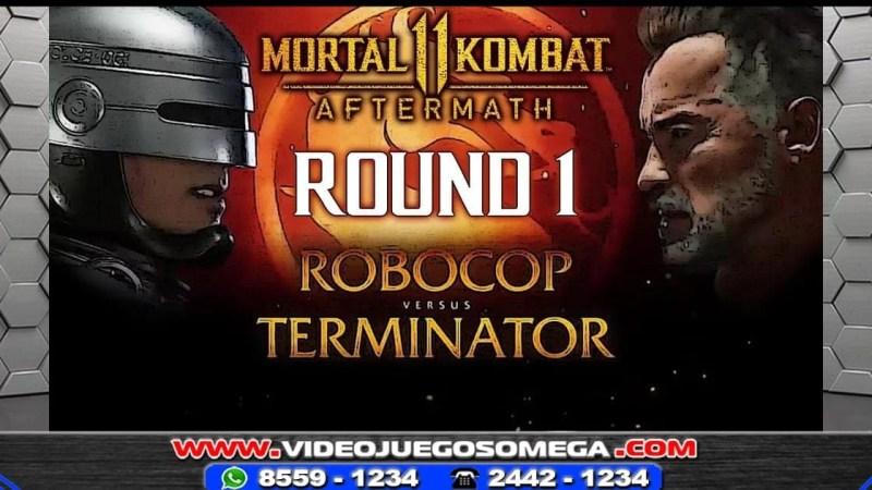 Robocop y Terminator en Mortal Kombat 11 Aftermath