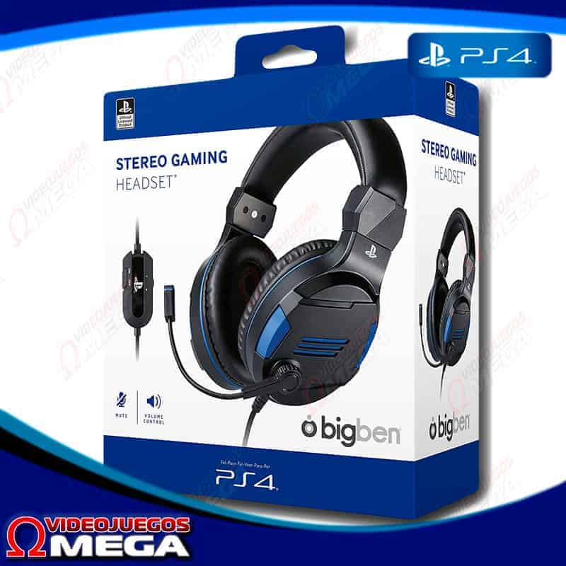 HeadSets BigBen PS4