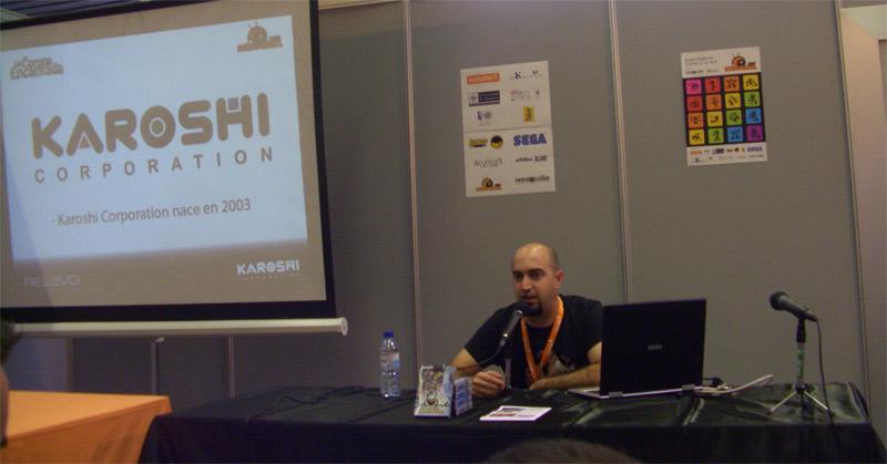 El desarrollador vasco de videojuegos retro Jon Cortázar