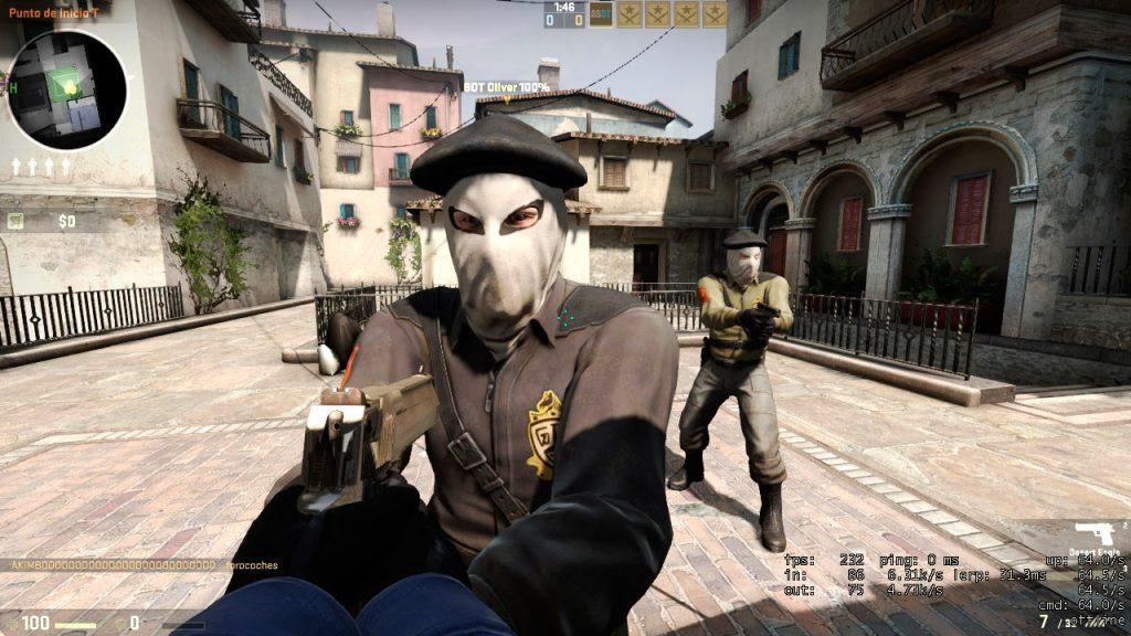 Miembros de la banda terrorista ETA en el videojuego Counter Strike