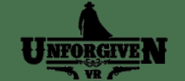 Logotipo del nuevo juego de Delirium Studios Unforgiven VR