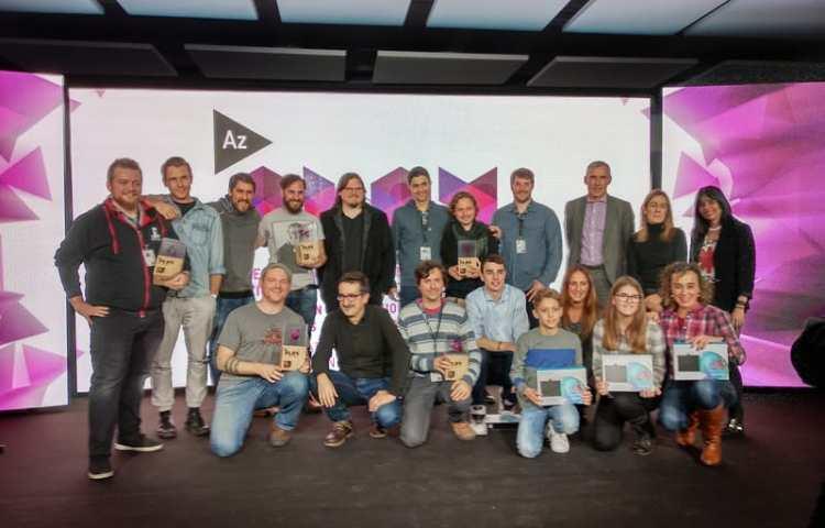 Ganadores de los premios AZPlay 2017