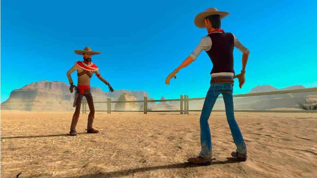 El videojuego Unforgiven VR funcionará en Oculus y HTC Vive