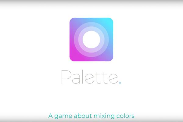 Palette es un juego de puzles que ayuda a entrenar la percepción de los colores