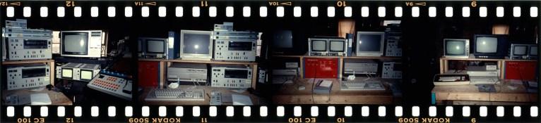 Teknisk utstyr fra ETC. Foto: Kjell Bjørgeengen