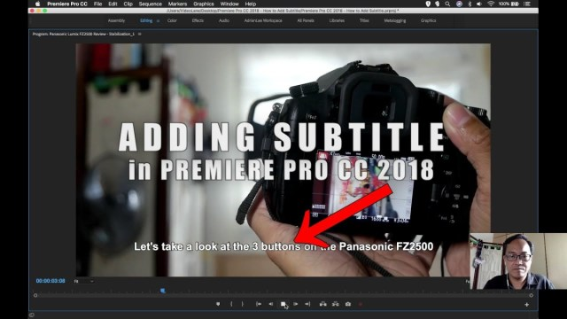 How to add subtitle in premiere pro cc 2018 videolane ccuart Gallery