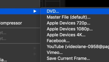 What's New in Final Cut Pro X 10 4 4 - VIDEOLANE ▶︎▶︎