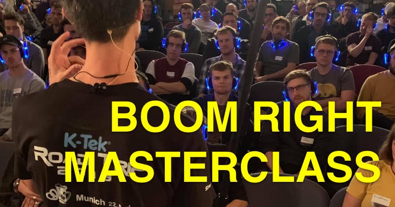 Boom Right Masterclass with Ken Strain