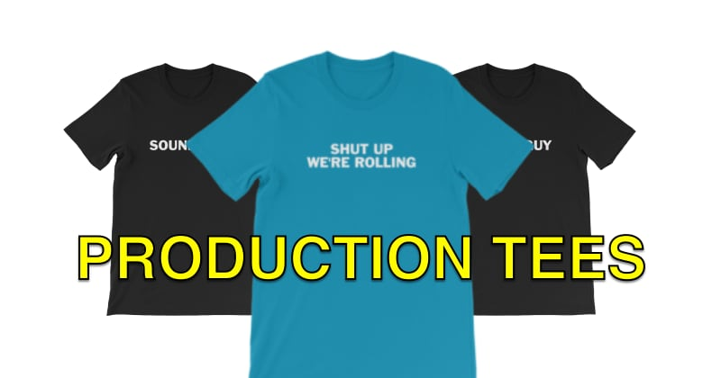 T-Shirts for Production Crews