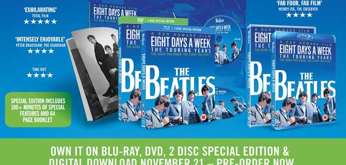 """The Beatles """"Eight Days a Week"""" vince il Grammy come miglior film"""
