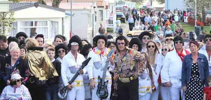 Porthcawl rocks to world's largest Elvis Presley festival