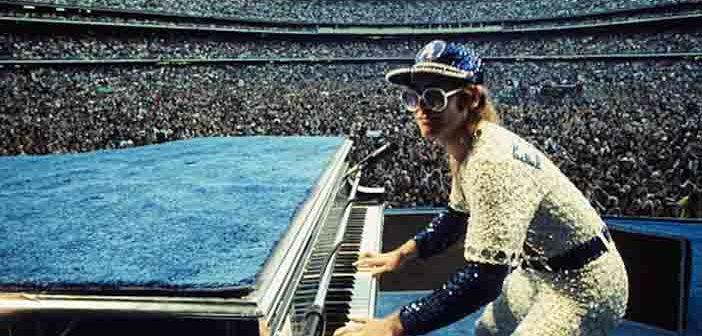 Elton John, Taron Egerton Reunite at Greek Theatre for 'Rocketman' Concert