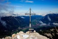 Videonauts Alpspitze Trekking Alpen Gipfelkreuz