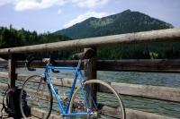 Videonauts Valepp Biketour mit dem Moser vintage racer Spitzingsee