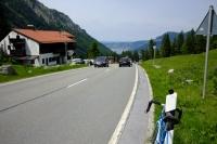 Videonauts Valepp Biketour mit dem Moser vintage racerStrasse Spitzingsee / Schliersee