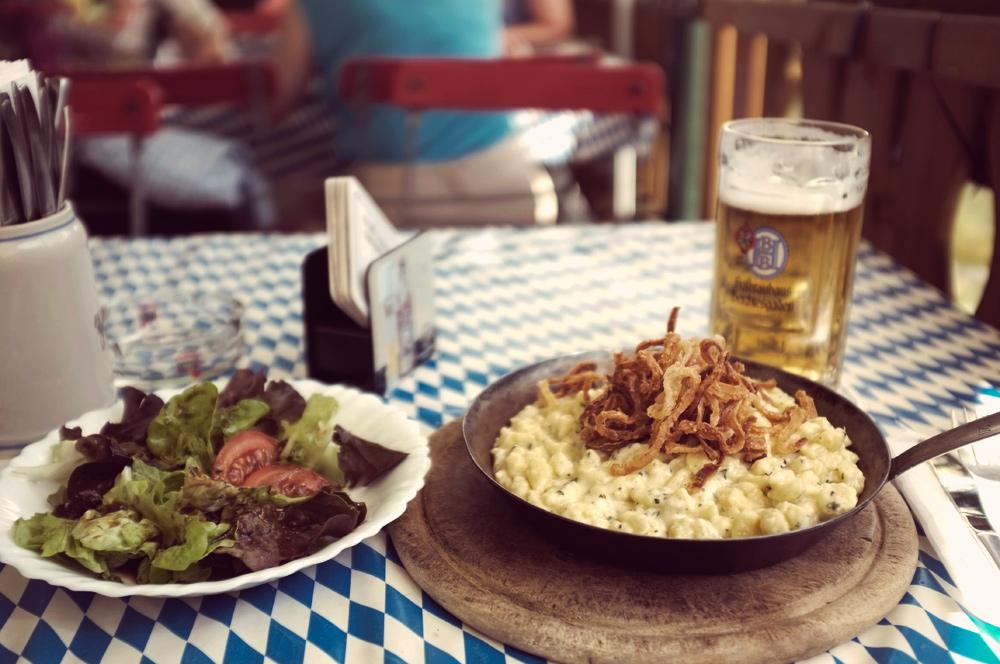 Videonauts Berchtesgaden Käsespetzle