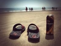 Videonauts Gran Canaria Strand und Strongbow Cider
