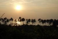 Videonauts Indien Business Trip 2014 Goa Arambol beach sunset