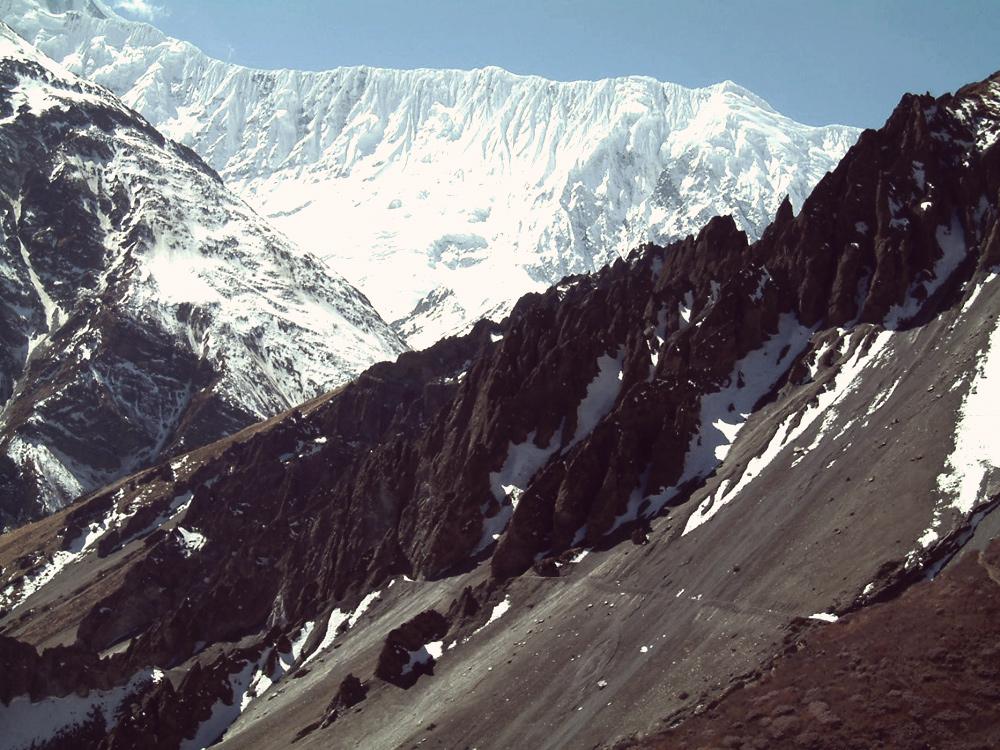 Nepal Annapurna Runde 2004 - auf dem Weg zum Tilicho Lake