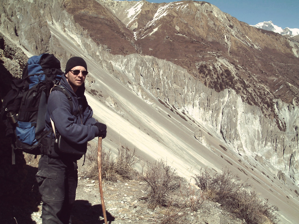 Nepal Annapurna Runde 2004 - auf dem Weg zum Tilicho Lake - chief videonaut