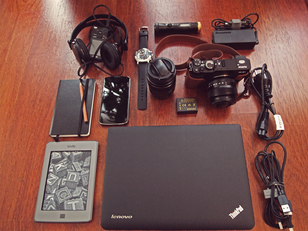 Videonauts gadget packliste sabbatical backpacking