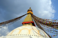 Videonauts Nepal Kathmandu Stupa Bodnath backpacking