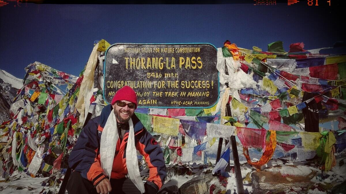 Videonauts backpacking Nepal Annapurna Circuit Thorong La Chief