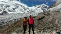 Videonauts backpacking Nepal Manaslu Circuit Manaslu Basecamp