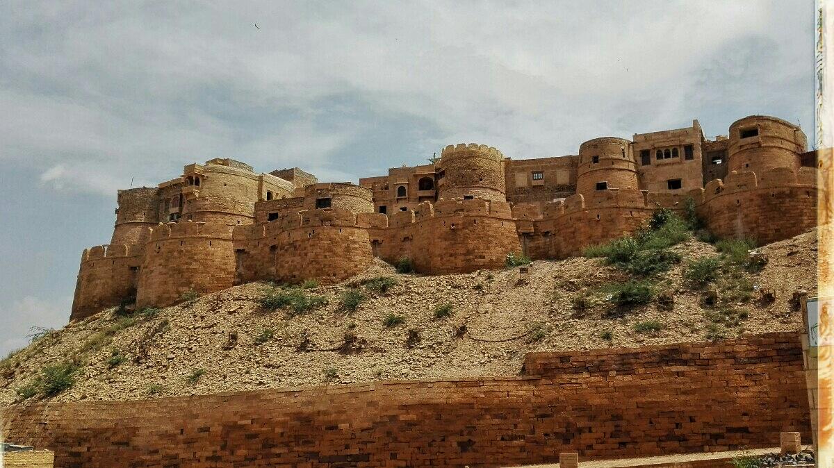 Videonauts backpacking Indien Rajasthan Jaisalmer Fort