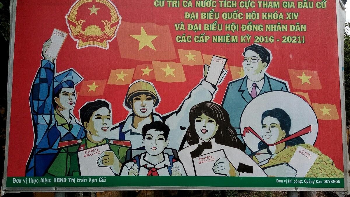 Videonauts backpacking Vietnam Propaganda II