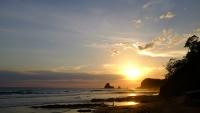 Videonauts Nicaragua Playa Maderas sunset backpacking