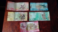 Videonauts Costa Rica money bills backpacking