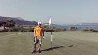 Videonauts Griechenland Messenien, Westin Costa Navarino Golf Platz Bay Golf Club