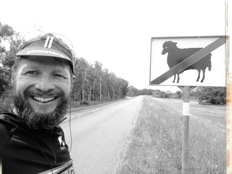 on the road - no black sheeps beyond this point