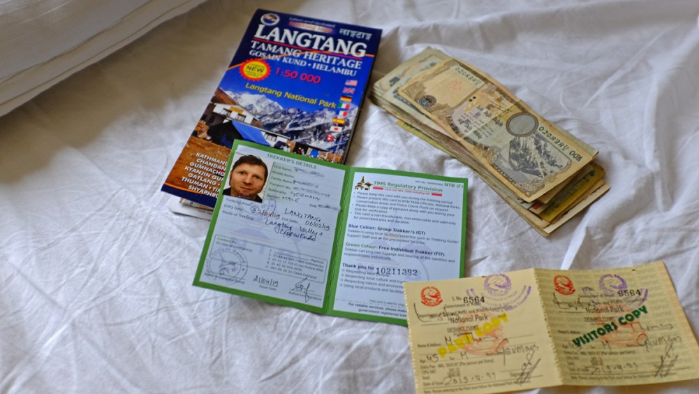 Langtang Permit & TIMS