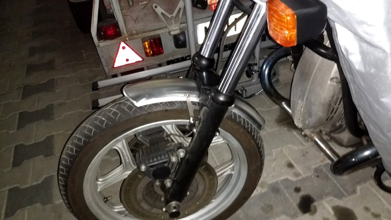 BMW R80 Fender Vorne