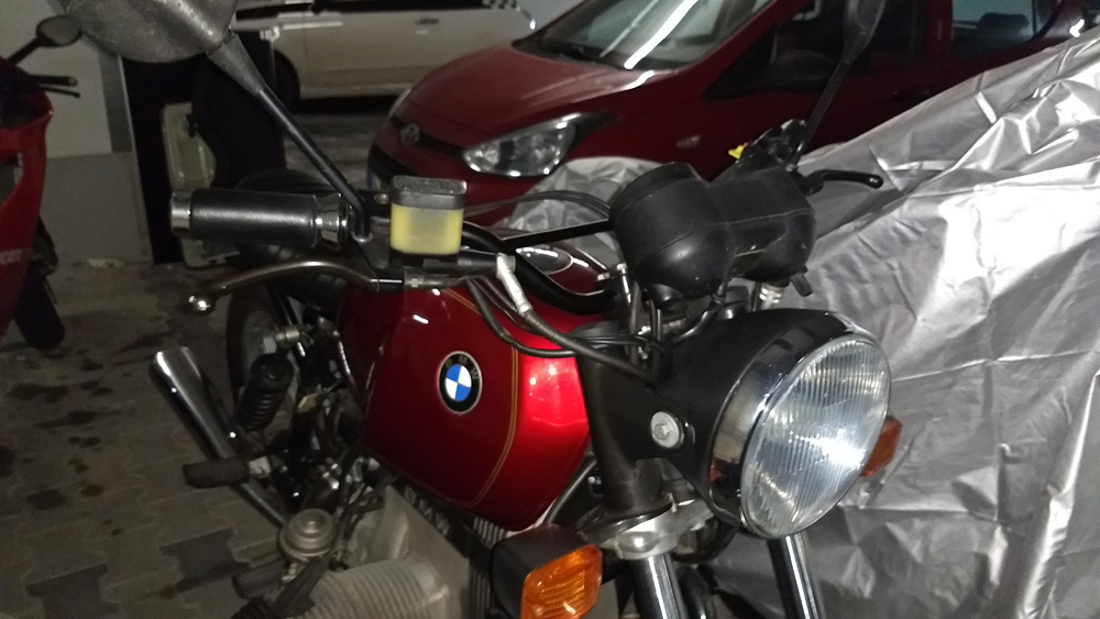 BMW R80 Front