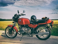 BMW R80 Vorher