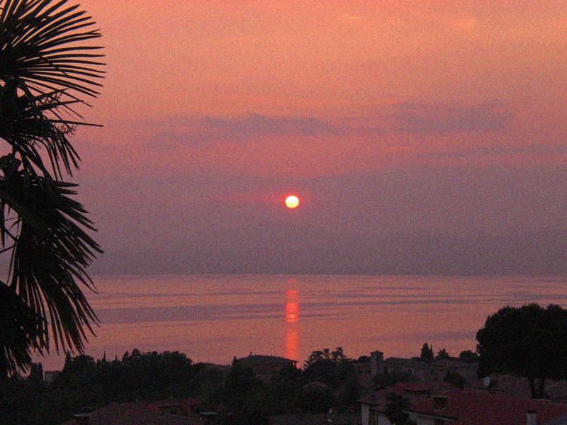 Videonauts Gardasee Bardolino Sonnenuntergang