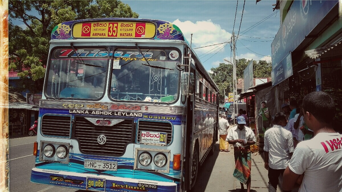 Sabbatical Videonauts Sri Lanka local bus