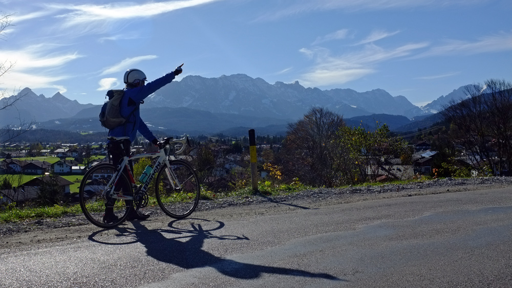 Videonauts Mittenwald Radtour