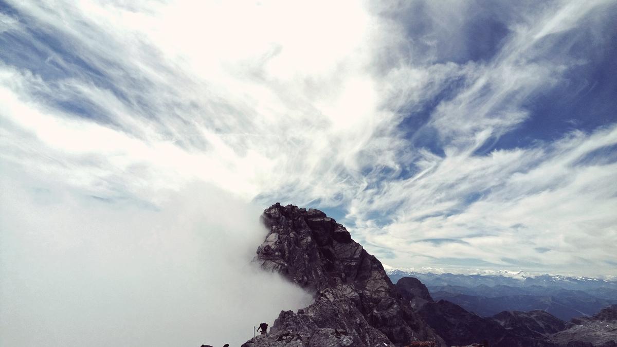 Berge-Wandern-Watzmann-Überschreitung