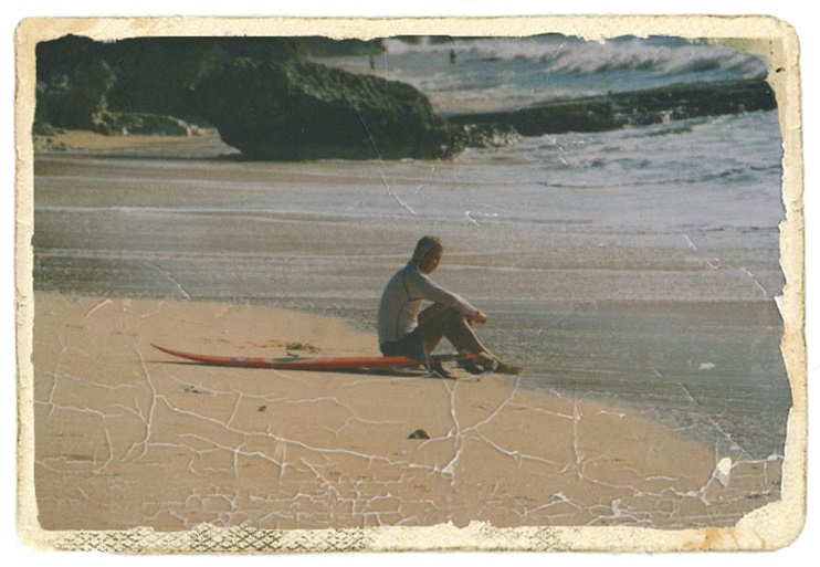 Videonauts Bali surfing beach 2001