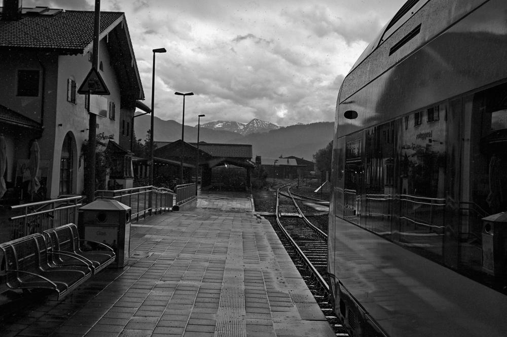 Videonauts Lenggries Bahnhof