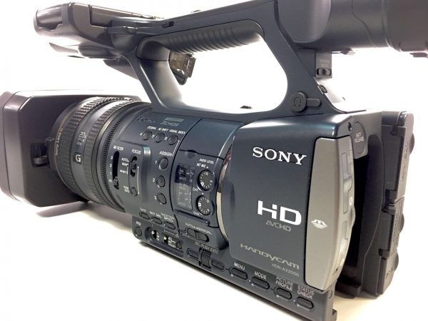 Sony Hdr-ax2000 Refurbished Camcorder With 6 Month Guarantee
