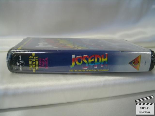 Joseph And The Amazing Technicolor Dreamcoat New Vhs