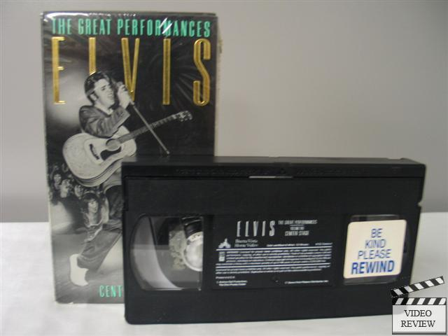 Image result for elvis the great performances vhs