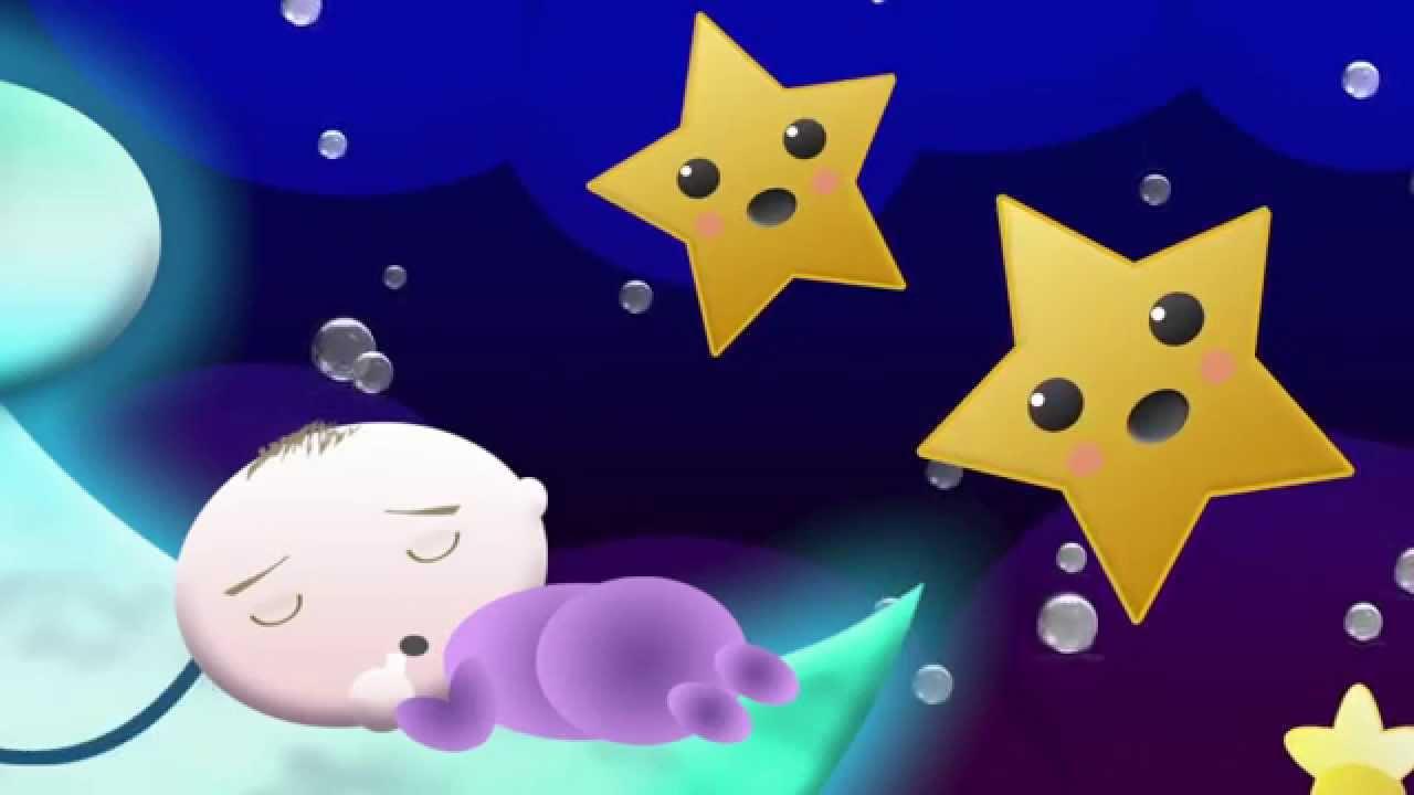 Cancin de Cuna  Dulces sueos beb Go to sleep my little one   Videos Infantiles
